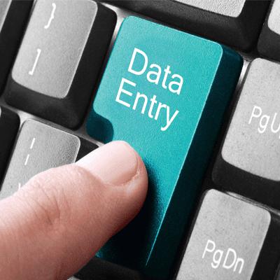 مطلوب مدخل بيانات للعمل لدى شركة