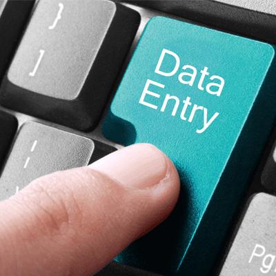 مطلوب مدخلة بيانات للعمل براتب 220 ينار وضمان وتامين