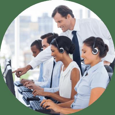 مطلوب موظفين Call Center ( ذكور واناث ) للعمل في إحدى أكبر المولات التجارية