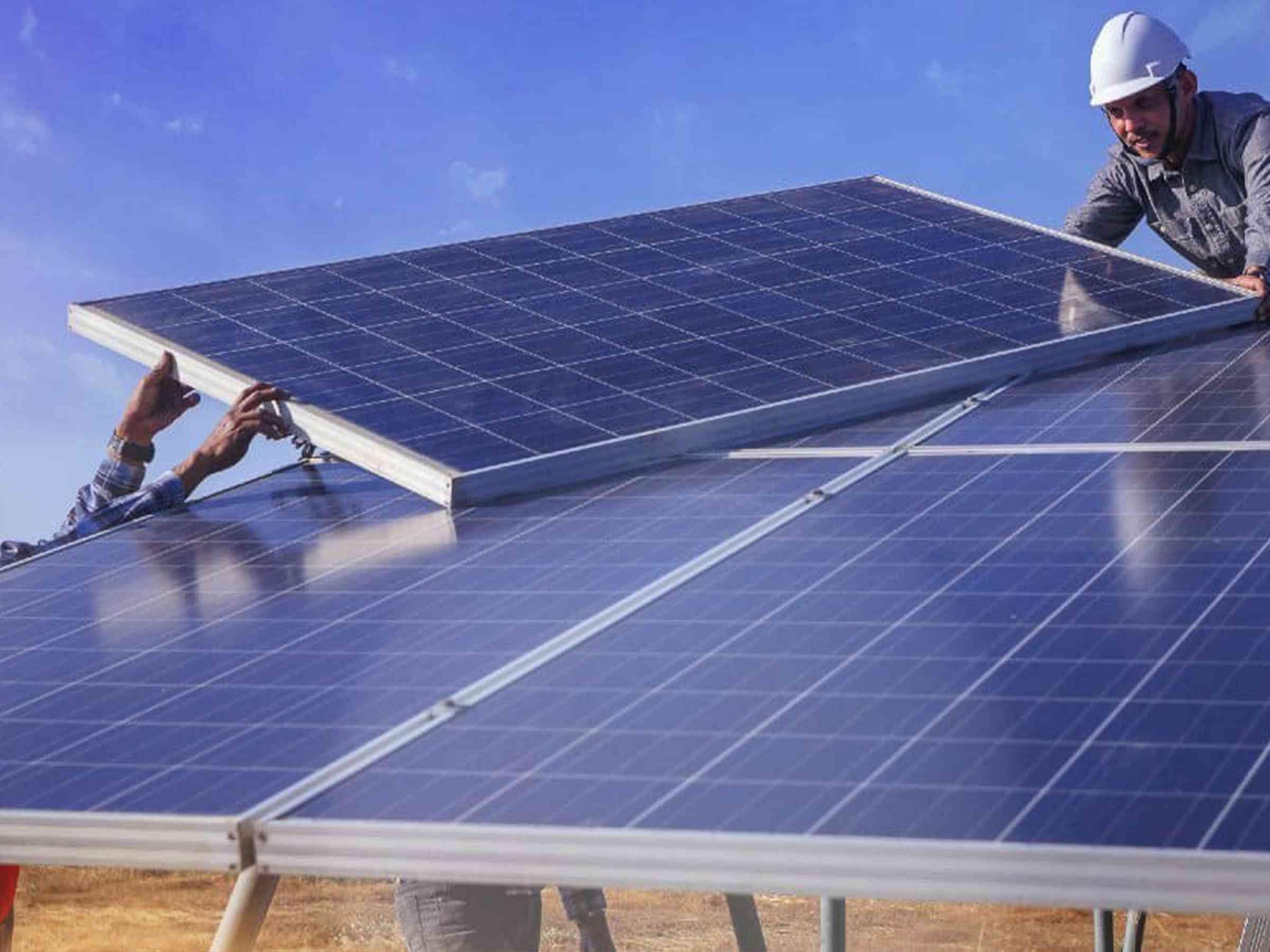 مطلوب مهندس حديث التخريج طاقة متجددة ،كهرباء او اي تخصص ذو صلة